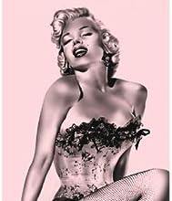 Marilyn Monroe Fleece Throw Blanket with Beach Towel - Pink Fishnet