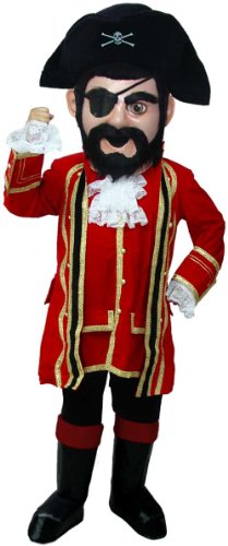 Captain Jack Lightweight Mascot Costume
