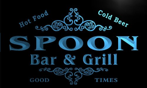 u42603-b SPOON Family Name Bar & Grill Home Decor