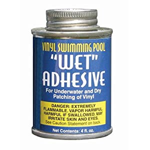 Poolmaster 30277 Underwater Swimming Pool 4 Oz Vinyl Liner Adhesive Repair Kit