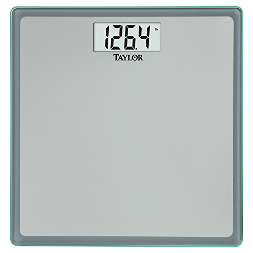 Taylor Precision Products Glass Digital Bath Scale 0077784012901