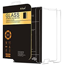 Galaxy Note 4 Screen Protector,[2 Packs]By Ailun,Tempered Glass,9H Hardness,2.5D Curved Edge,Ultra Clear,Bubble Free,Anti-Scratch,Fingerprints&Oil Stains Coating,Case Friendly-Siania Retail Package