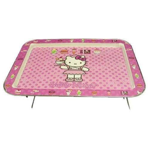 Amazon.com | Hello Kitty Lap Tray TV Tray Serving Tray: Platters