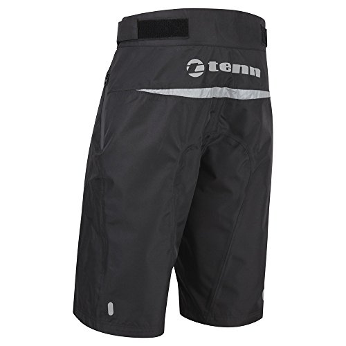 Tenn Mens Protean MTB/Downhill Cycling Shorts - Black - Lrg