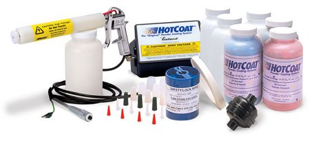 NEW Eastwood Hotcoat Powder Coating System Deluxe Kit