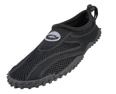 Buy Ladies Easy USA Wave Water Shoes Pool Beach Aqua Socks, Yoga , Exercise , Dance by Easy
