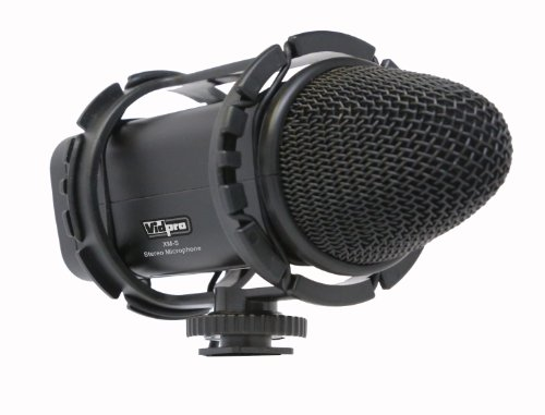 Canon Vixia Hf G30 Camcorder External Microphone Xm-S Professional Condenser Stereo Video Microphone - Soft Case Included