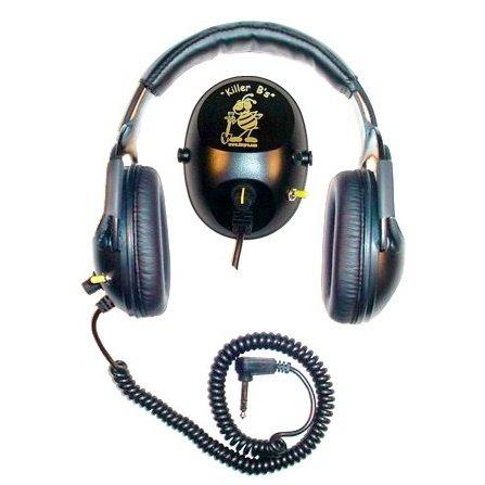 Killer B Optima Headphones For Metal Detecting Fits Various Metal Detectors
