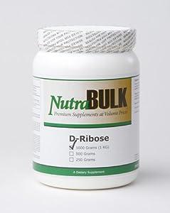 NutraBulk D-Ribose Powder ONE KILOGRAM