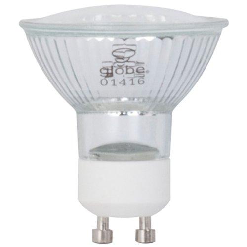 Globe Electric 33808 1.2-Watt Led For Life Mr16 Gu10 Light Bulb, Cool White