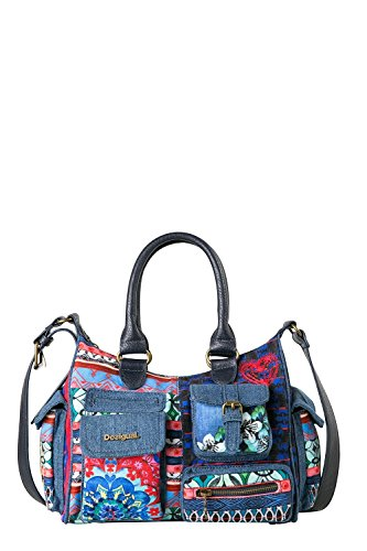 Desigual Damentasche Mini London_Culture Club marino thumbnail