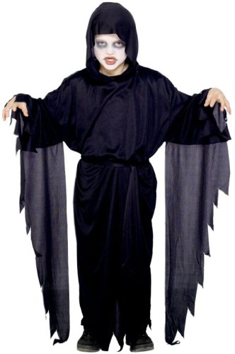 Screamer Ghost Robe Fancy Dress Boy Costume