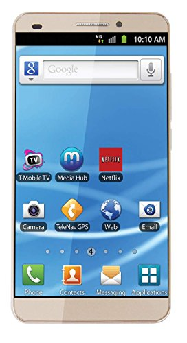 Maccox X7 5.5 Inch 4G Smartphone in Gold Colour