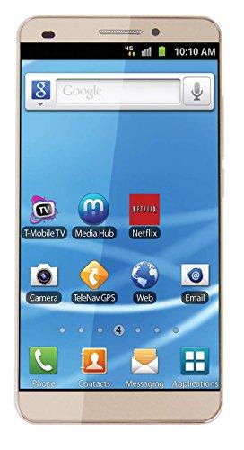 Maccox X7 5.5 Inch 4G Smartphone in Gold Colour