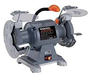 Terratek TBG6 Heavy Duty 6-Inch Bench Grinder with Light