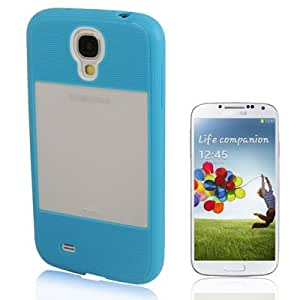 Translucent Plastic Protective TPU Case for Samsung Galaxy S4 i9500 (Blue)