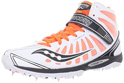 Click here to buy Saucony Mens Lanzar Jav Track Shoe by Saucony.
