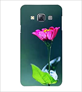 PrintDhaba Flowers D-2443 Back Case Cover for SAMSUNG GALAXY A3 (Multi-Coloured)