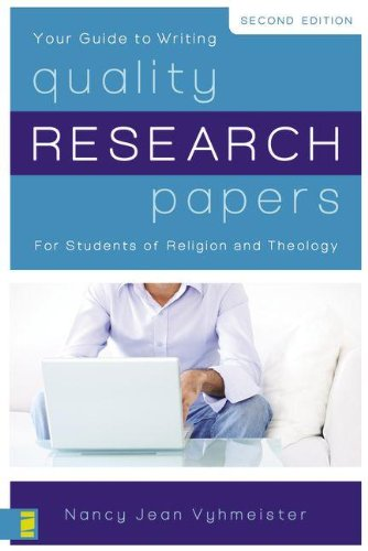 Quality Research Papers: For Students of Religion and...
