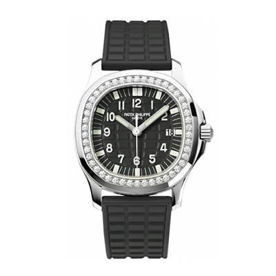 Patek Philippe Aquanaut Ladies Diamond Quartz Watch - 5067A-001