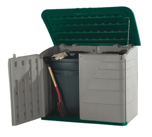 Rubbermaid 51-by-42-by-24-Inch Storage Shed #3747 (Discontinued by Manufacturer)