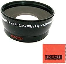 72mm Wide Angle Lens For Nikon DF D90 D3000 D3100 D3200 D3300 D5000 D5100 D5200 D5300 D5500 D7000 D7