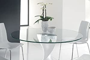 36 inch round glass table top 3 8 thick flat polish edge tempe