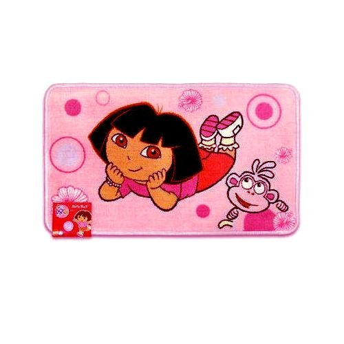 Dora the Explorer Bath MAT Bathroom Shower Rug Kid's Home Decor