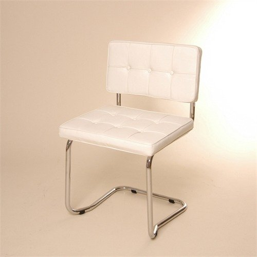 LOUNGE DESIGN CANTILEVER CHAIR from XTRADEFACTORY dining kitchen stool L36 white
