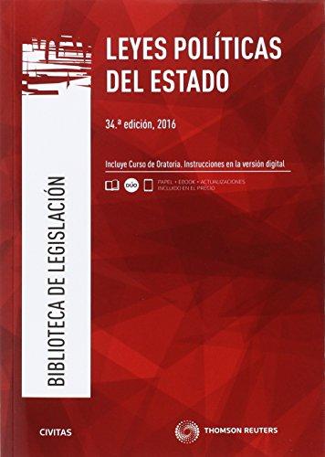 Leyes Políticas del Estado (34 ed. - 2016) (Biblioteca de Legislación)