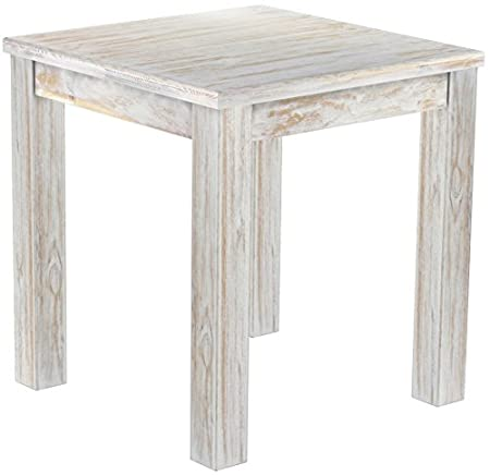 Brasil Furniture Dining Table Pine Solid Wood – Colour Brasil 'Rio' 73 x 73 cm