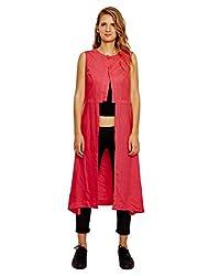 Jalebe Women's A-Line Dress_INDTJBS001_Pink_M