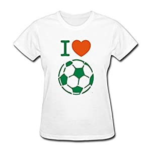 Love Playing Soccer T-Shirts For Women,Team Tshirt