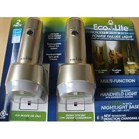 Eco-I-Lite Multi-Function Power Failure Light, 2-Pack