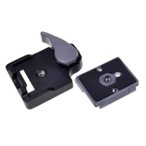 Neewer Camera Tripod Quick Release Plate For Two Ballhead/Cameras O4R