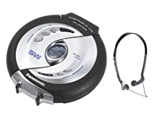 buy Panasonic Sl-Sw940S Shockwave Water Resistant Portable Cd Player (Silver)
