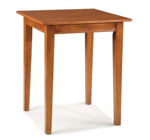 Arts and Crafts Square Bistro Table - Cottage Oak