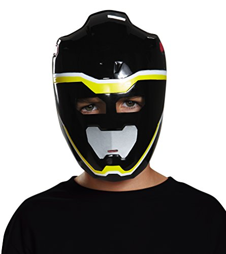 Disguise Black Ranger Dino Charge Vacuform Mask Costume