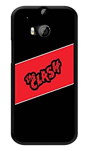 """Humor Gang The Clash Printed Designer Mobile Back Cover For """"HTC ONE M8 - HTC ONE M8S"""" (3D, Glossy, Premium Quality Snap On Case)"""