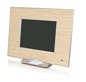 Ality AL-MP8IW Moderna 8-Inch LCD Digital Photo Frame - Irony Wood