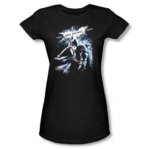 Dark Knight Rises - Batman More than a Man Junior's T-Shirt