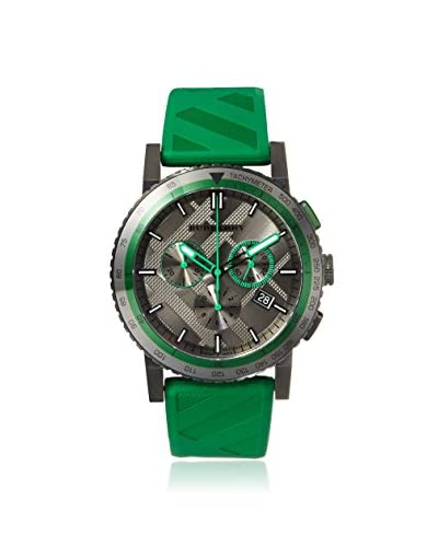 Burberry Men's BU9813 The City Green/Grey Ion-Plated Steel Watch