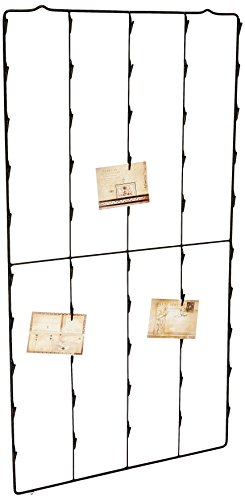 creative-co-op-reproduction-metal-photo-card-holder-with-three-postcards