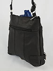 Leather Concealed Carry Purse - RIGHT AND LEFT HAND DRAW -