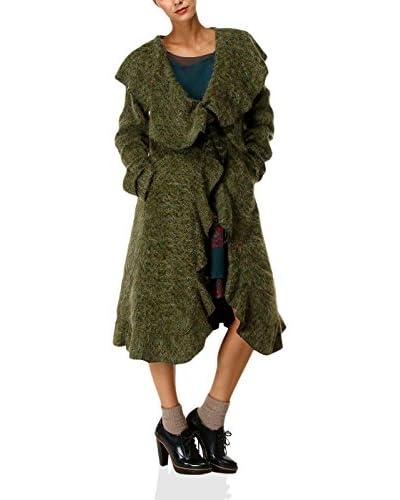 IAN MOSH Cappotto Tolstoi Verde XL
