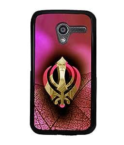 printtech Sikh Khalsa Waheguru Back Case Cover for Motorola Moto X XT1058::Motorola Moto X (1st Gen)
