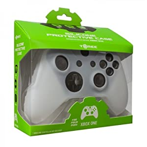 Tomee Silicone Skin Protective Case for Xbox One Controller (White) from Tomee