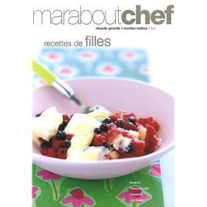 Recettes de Filles - Maraboutchef