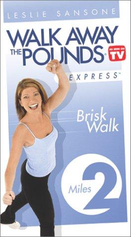 Leslie Sansone - Walk Away the Pounds Express: Brisk Walk 2 Miles [VHS]
