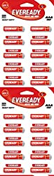 Eveready CZN Battery Red Hd AAA 1012 Battery (Pack of 20 Strip)
